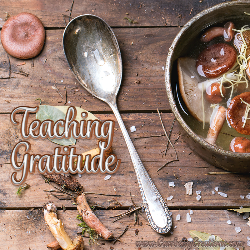 Teaching Thankfulness