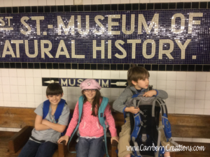 The Subway Exit for The Museum