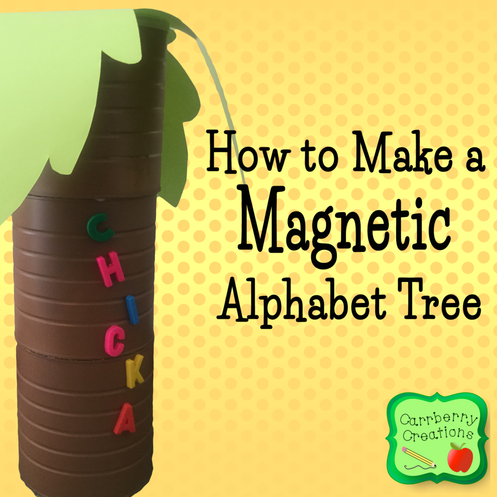 How to Make an Alphabet Tree | Carrberry Creations