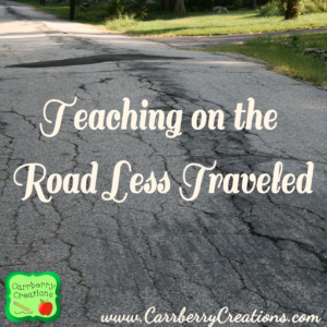 Teaching Inspiration in the Road Less Traveled