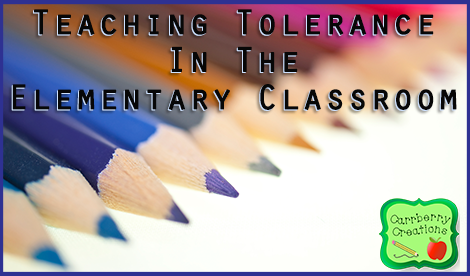 Teaching Tolerance | www.carrberrycreations.com