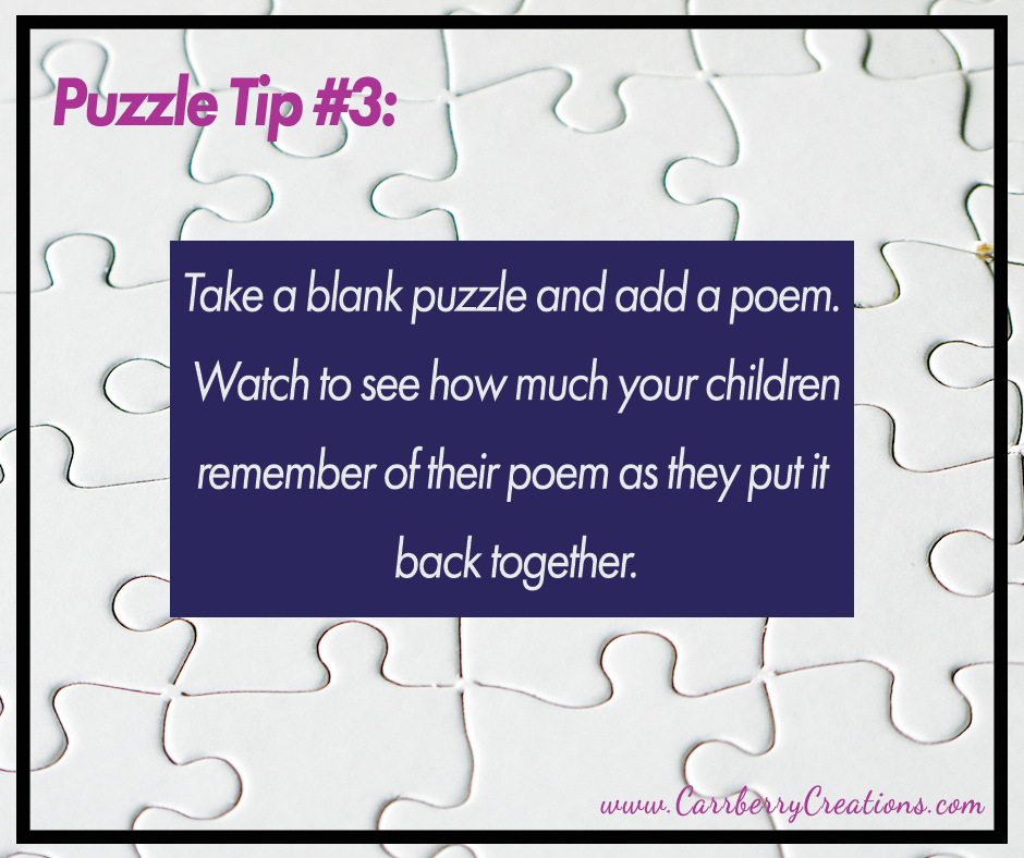 Increase Student Success With Puzzles!